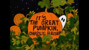 Great Pumpkin Title Card