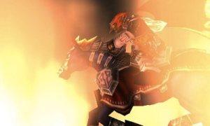 Ganondorf on horseback