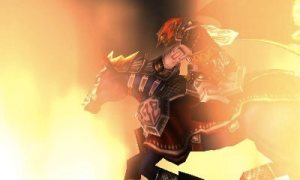 Ganondorf on horseback