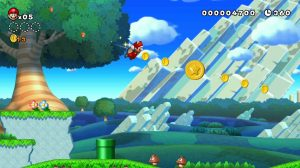 mario squrrel flying