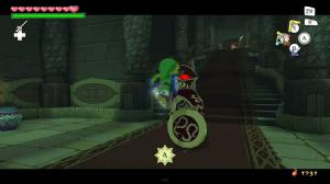 Link timed button command attack