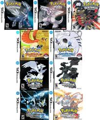pokemon ds games