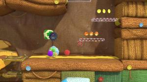 throwing yarn balls at platforms