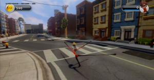 Pixar Post - Disney Infinity Screenshot