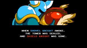 shield knight sad