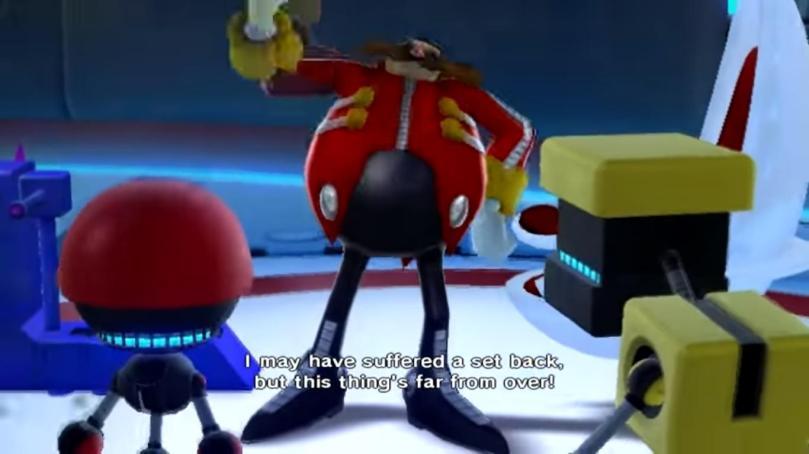 eggman and robots