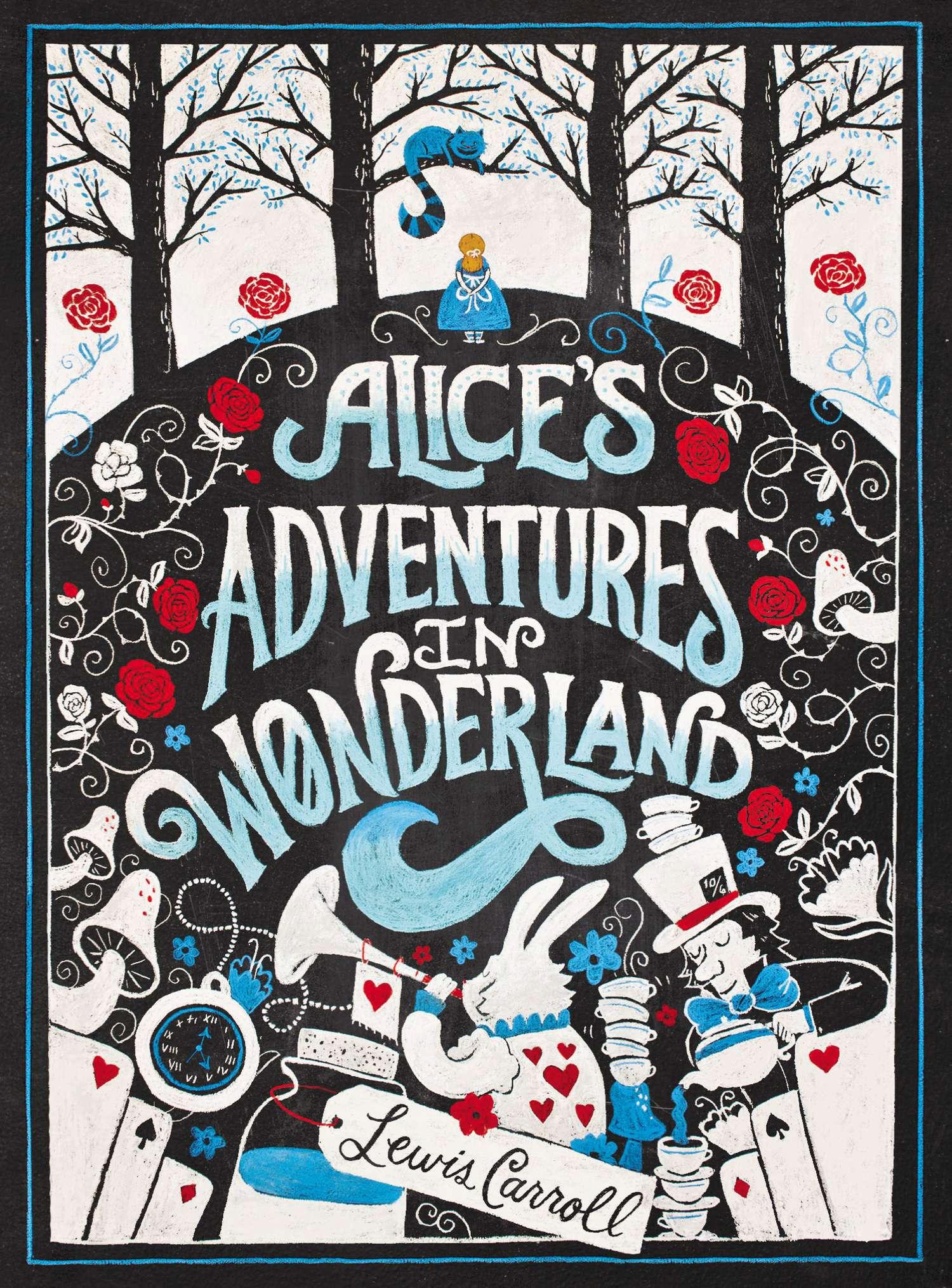 Alice In Wonderland Classic Book Cover ~ Book review alice s adventures in wonderland by lewis