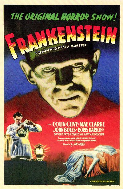 Original-Frankenstein movie poster