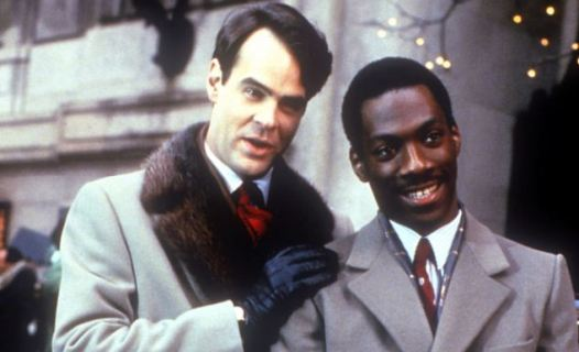 Trading Places Dan Aykroyd and Eddie Murphy ©Paramount Pictures
