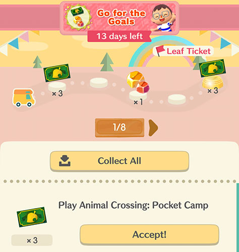 animal-crossing-pocket-camp-get-free-leaf-tickets-event-goals