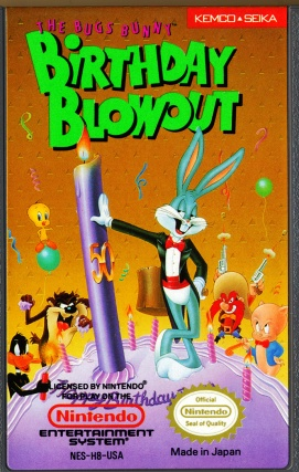 Bugs Bunny Birthday Blowout - Label